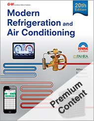 Modern Refrigeration and Air Conditioning, 20th Edition