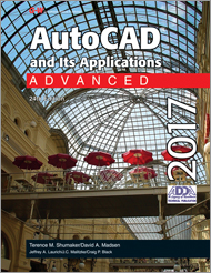 AutoCAD and Its Applications Advanced 2017, 24th Edition