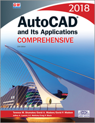 AutoCAD and Its Applications Comprehensive 2018, 25th Edition