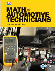 Math for Automotive Technicians, 1st Edition