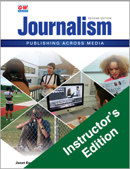 Journalism: Publishing Across Media, 2nd Edition, Instructor's Edition