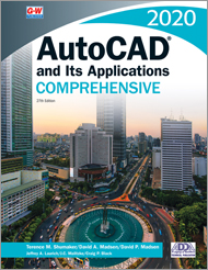 AutoCAD and Its Applications Comprehensive 2020, 27th Edition