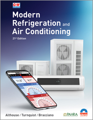 Modern Refrigeration and Air Conditioning, 21st Edition