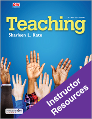 Teaching, 3rd Edition, Online Instructor Resources