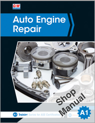 Auto Engine Repair, 7th Edition, Shop Manual