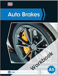 Auto Brakes, 5th Edition, Workbook
