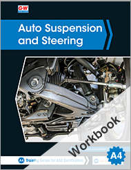 Auto Suspension and Steering, 5th Edition, Workbook