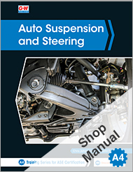 Auto Suspension and Steering, 5th Edition, Shop Manual