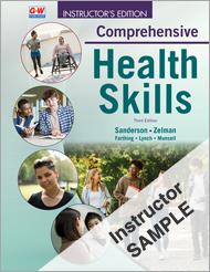 Comprehensive Health Skills 3e, California Online Instructor Resource Suite Sample
