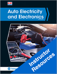 Auto Electricity and Electronics, 7th Edition, Instructor Resources