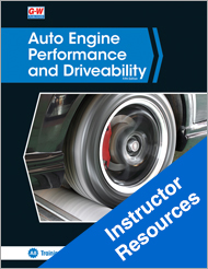 Auto Engine Performance and Driveability, 5th Edition, Online Instructor Resources