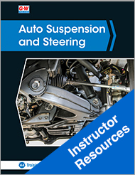 Auto Suspension and Steering, 5th Edition, Online Instructor Resources