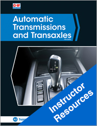 Automatic Transmissions and Transaxles, 5th Edition, Instructor Resources