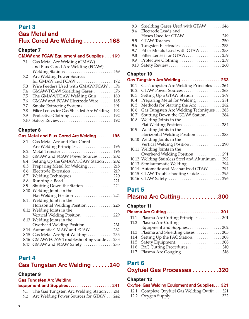 Modern Welding 12th Edition Page X 18 Of 928