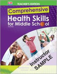 Comprehensive Health Skills for Middle School 2e, Online Instructor Resource Suite SAMPLE
