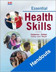 Essential Health Skills 3e, Handouts