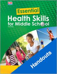 Essential Health Skills for Middle School 2e, Handouts