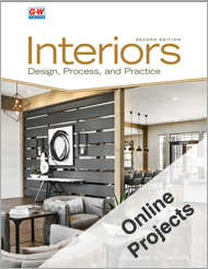 Interiors: Design, Process, and Practice, 2nd Edition, Online Projects