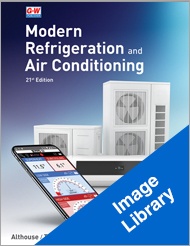 Modern Refrigeration and Air Conditioning, 21st Edition, Image Library