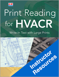 Print Reading for HVACR, 1st Edition, Online Instructor Resources